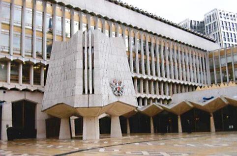 ロンドン市庁舎 西棟(ギルドホール・ロンドン)