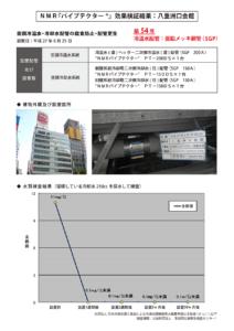 NMRパイプテクター八重洲口会館の導入事例