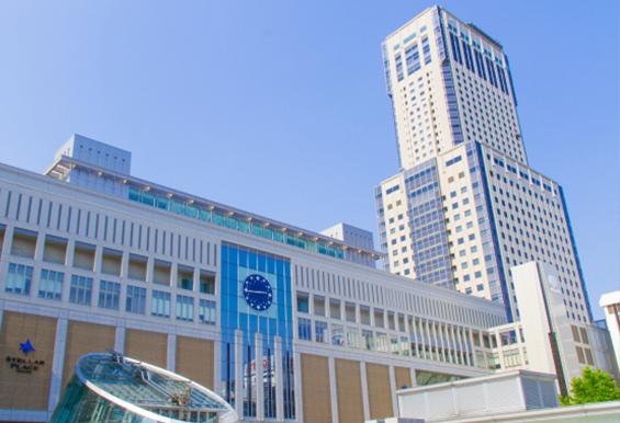 JR札幌駅(JRタワービル) 平成15年1月設置